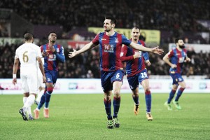 Swansea City 1-1 Crystal Palace: Eagles earn much needed point