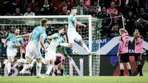 Qualificazioni Russia 2018 - Bezjak infrange il sogno mondiale della Scozia: 2-2 in Slovenia