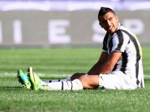Vidal, lesione muscolare e stop di 20 giorni