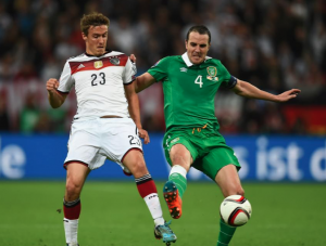 Germany 1-1 Ireland: O'Shea pulls off a late equaliser to surprise Germany
