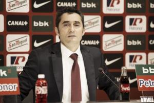 """Valverde: """"Tenemos un poco de ventaja pero la eliminatoria está en el aire"""""""