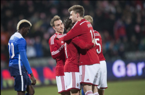 Denmark 3-2 United States: Nicklas Bendtner Hat Trick Tumbles Unlucky United States