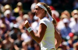 Wimbledon: Kvitova Starts Title Defense With Flier