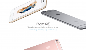 Apple Introduces New iPhone 6s, 6s Plus