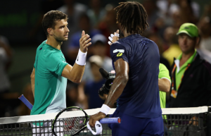 ATP Miami: Gael Monfils Pushes Through In Back And Forth Three Set Battle Against Grigor Dimitrov