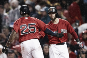 Surging Boston Red Sox offense heads to Kansas City for bout with Royals