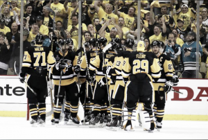 Pittsburgh Penguins hold off San Jose Sharks to take Game One of the Stanley Cup Finals