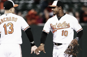 Baltimore Orioles garner 14 hits in rollercoaster 13-9 win over Boston Red Sox
