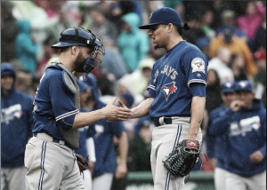 Toronto Blue Jays stave off Boston Red Sox comeback for 5-4 win; Trail AL East leaders by just 2.5 games