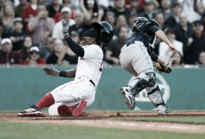 Xander Bogaerts hits solo blast, Boston Red Sox defeat Seattle Mariners, 6-2