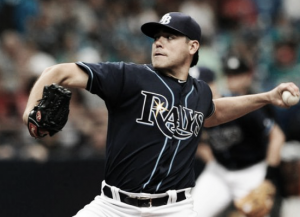 Matt Moore pitches shutout in Tampa Bay Rays' 4-0 win over Boston Red Sox