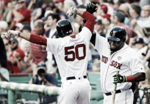 Steven Wright earns 12th win as Boston Red Sox beat Minnesota Twins, 13-2, behind offensive showcase
