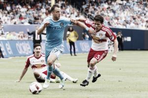 Summary New York Red Bulls 4-1 New York City FC in 2016 MLS
