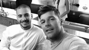 Ricky Martin lanza su nuevo single con Maluma