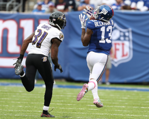 Odell Beckham Jr scores game-winning touchdown as New York Giants defeat Baltimore Ravens