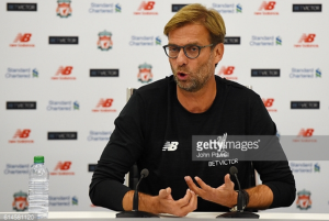 Liverpool boss Klopp: We aren't thinking about what United can do to us, but what we can do to them
