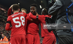 Divock Origi: Woodburn is in the 'perfect environment' to thrive at Liverpool