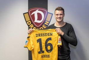 Dynamo Dresden snap up Philip Heise from VfB Stuttgart