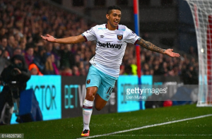 West Ham forward Manuel Lanzini aiming to haunt Crystal Palace again this weekend