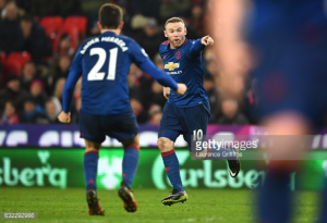 Stoke City 1-1 Manchester United: Rooney becomes Red Devils' leading goalscorer with 94th minute free-kick