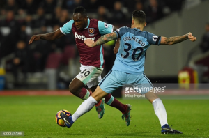 "Manchester City defeat was ""painful"" states Michail Antonio"