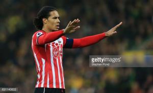 Injured Southampton defender Van Dijk to miss Wembley final later this month