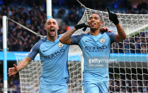 Manchester City 2-1 Swansea City: Gabriel Jesus' stoppage-time winner lifts City up to third