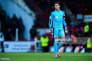 "Newcastle United goalkeeper Karl Darlow: ""We have to kick on now"""