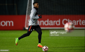Liverpool striker Daniel Sturridge back in training after illness