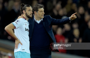 Slaven Bilic shares optimism of Andy Carroll's fitness ahead of West Ham's clash with Chelsea