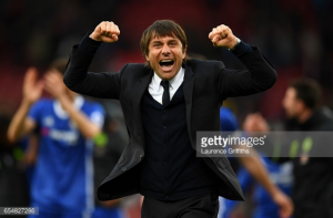 Chelsea need 21 points from final 30 to win the league, insists Antonio Conte after late Stoke win