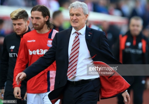 Mark Hughes frustrated by Stoke's lack of ruthlessness in front of goal after Liverpool defeat