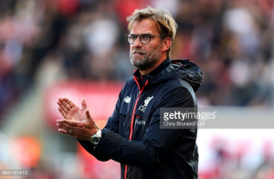 Jürgen Klopp salutes Liverpool's fighting second-half performance in come-from-behind Stoke win