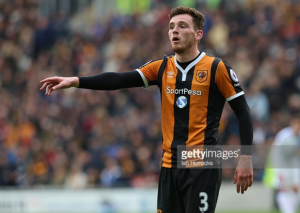 Liverpool move step closer to Andrew Robertson deal with left-back reported to have left Hull training camp