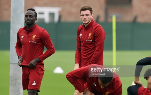 Sadio Mané and Danny Ings return to full Liverpool training as Andrew Robertson joins new team-mates