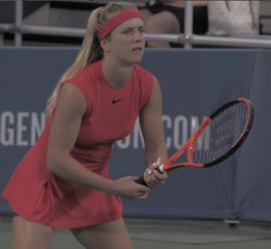 WTA Cincinnati: Elina Svitolina overcomes sloppy performance to move past countrywoman