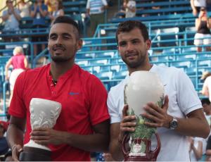 ATP Cincinnati: Grigor Dimitrov edges Nick Kyrgios for first career Masters title
