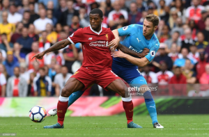 "Georginio Wijnaldum insists Liverpool's performance in Arsenal win was one to be ""proud of"""