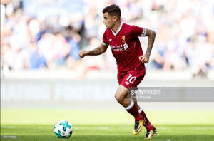 "Liverpool's Philippe Coutinho in ""perfect condition"" and cleared to play for Brazil after back complaint"