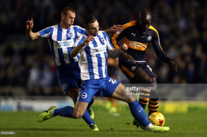 Brighton and Hove Albion vs Newcastle United Preview: Magpies aim to make it four wins from four