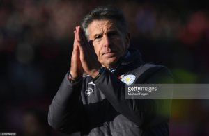 "Claude Puel ""encouraged"" by Leicester display in draw at Stoke despite leading twice"