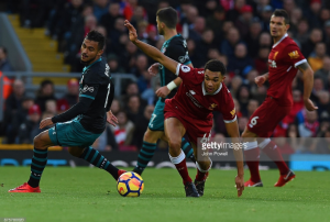 """Liverpool boss Klopp: Alexander-Arnold produced """"probably his best performance so far"""" against Saints"""