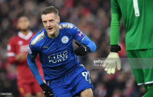 Leicester's fight a positive despite throwing away lead in Liverpool loss, says goalscorer Jamie Vardy