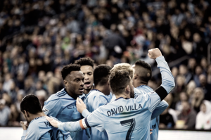 New York City FC grab 2-0 win vs Sporting KC to open MLS season
