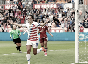 USA 6 - Mexico 2: Carli Lloyd scores 100th International goal in USWNT win