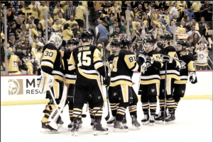 Pittsburgh Penguins tie up the series with a win in Game 4