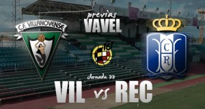 Villanovense - Recreativo de Huelva: la permanencia es el único objetivo