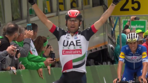 Giro di Svizzera - Sopresa Ulissi, Porte maglia gialla