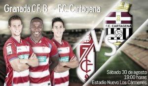 Granada B - Cartagena en directo online