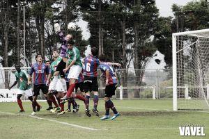 Fotos e imágenes del SD Leioa 3 - 2 SD Amorebieta, de la jornada 4 del Grupo II de Segunda División B